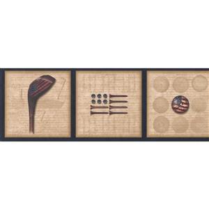 Chesapeake Golf Club and American Flag Wallpaper