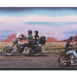 Retro Art Vintage Harley Davidson Motorcycles Wallpaper