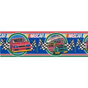 Retro Art NASCAR Retro Wallpaper Border
