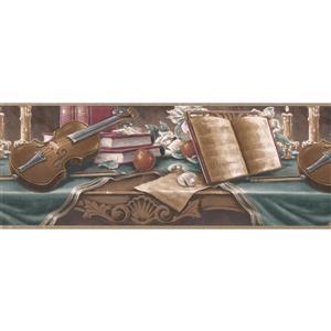 Retro Art Vintage Musician's Table Wallpaper