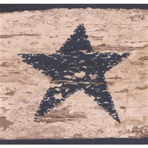 Chesapeake Vintage God Bless Our Home Sign Wallpaper Border