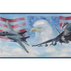 Chesapeake US Air Force Wallpaper Border