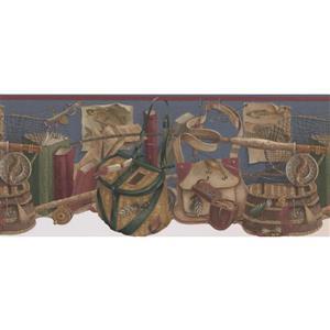 Retro Art Vintage Nautical Wallpaper Border
