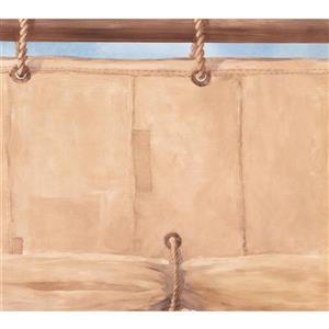 York Wallcoverings Retro Nautical Wallpaper Border