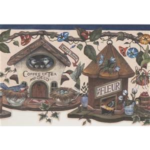 Retro Art Fairy Modern Wallpaper Border