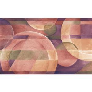 Chesapeake Abstract Plates Kitchen Wallpaper Border