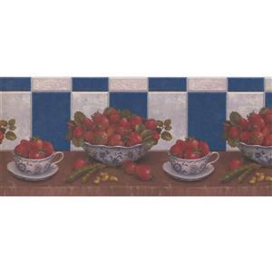 Retro Art Vintage Kitchen Wallpaper Border