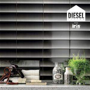 "Ceratec Diesel Shades Subway Wall Tile - 4"" x 12"" - Ceramic - Black - 34 pcs"