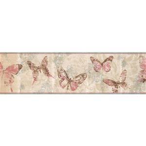 York Wallcoverings Faith, Hope and Stars Wallpaper Border - White