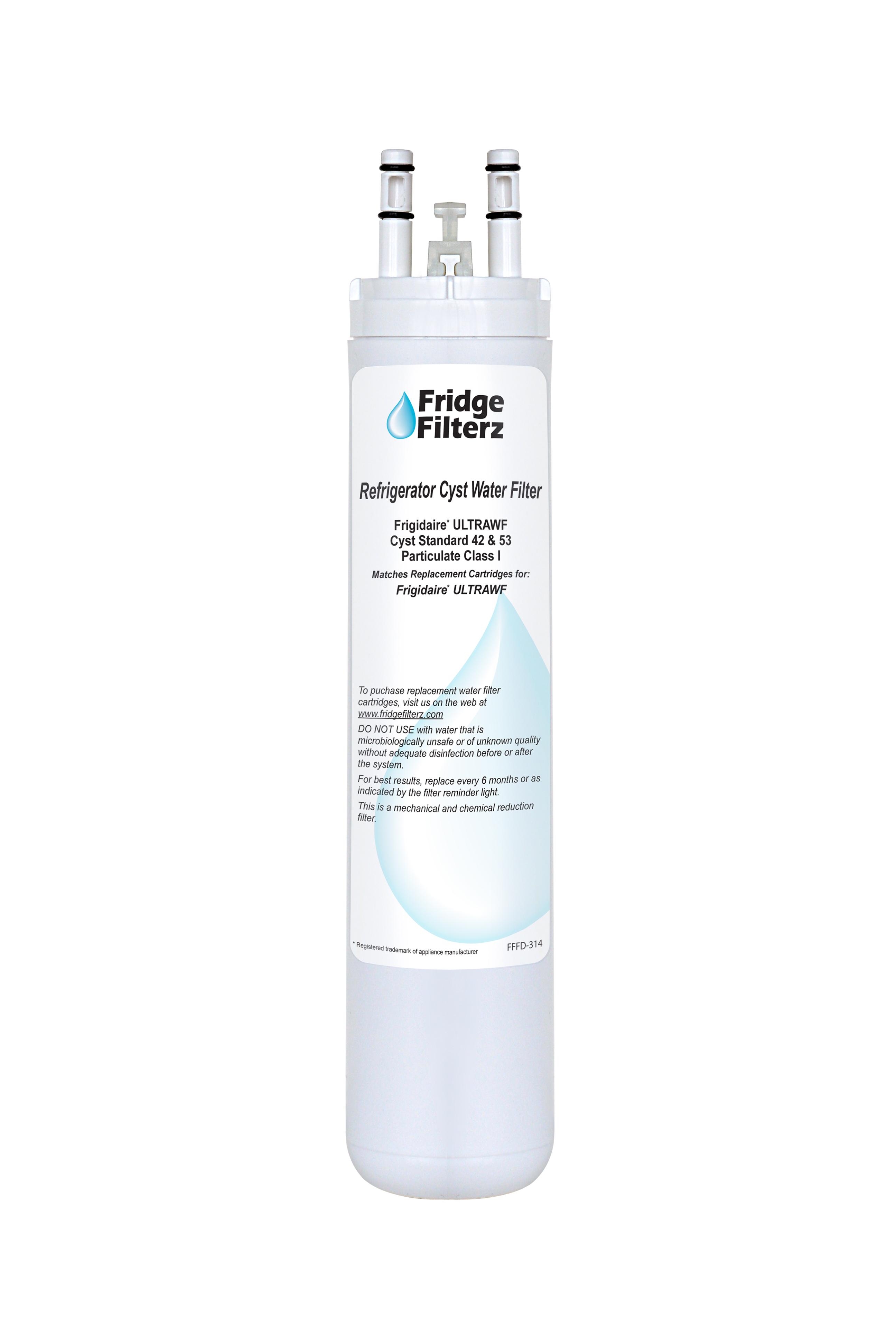 FridgeFilterz Refrigerator Water Filter for Frigidaire