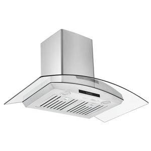 Ancona 36-in 620 CFM Wall-Mounted Range Hood (Stainless Steel)