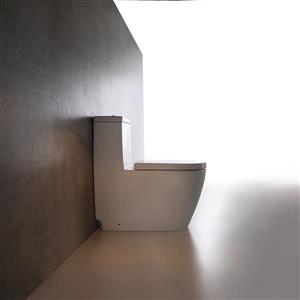 Jade Bath Giselle 1-Piece Dual-Flush Comfort Height Elongated Toilet (1.28 GPF)