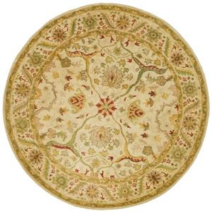 Antiquity Floral Rug - 3' x 3' - Ivory