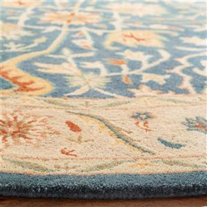Antiquity Floral Rug - 2' x 8' - Blue