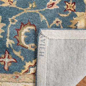 Antiquity Floral Rug - 2' x 8' - Blue/Beige