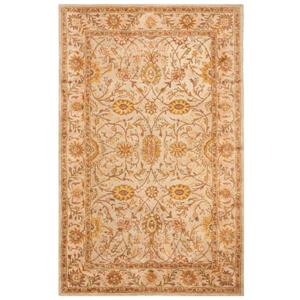 Antiquity Floral Rug - 2' x 4' - Ivory/Light Green