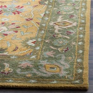 Antiquity Floral Rug - 3' x 5' - Gold