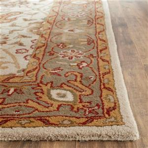 Antiquity Floral Rug - 2' x 8' - Ivory