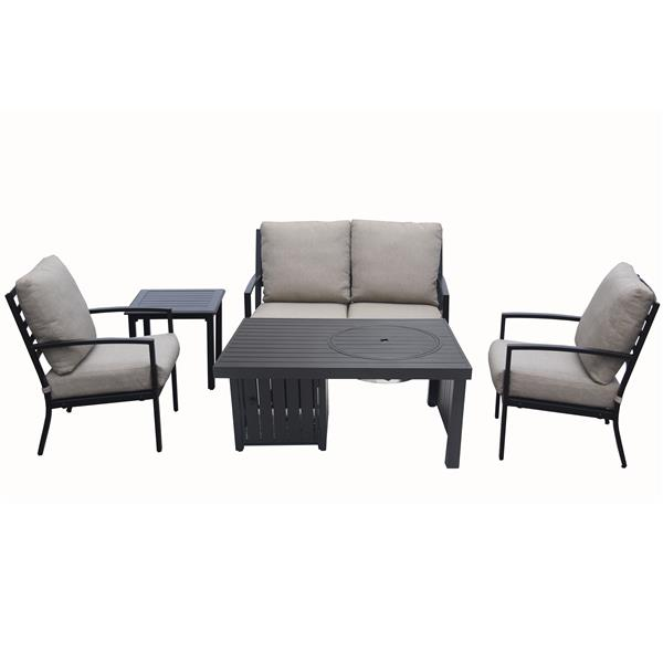 Fire Pit Table, Patio Furniture With Fire Pit Table Canada