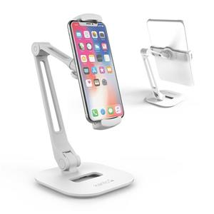 Kanto DS200 Universal Extended Phone and Tablet Stand, White