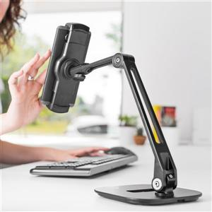 "Kanto DS200 Universal Extended Phone-Tablet Stand, 15"" Black"