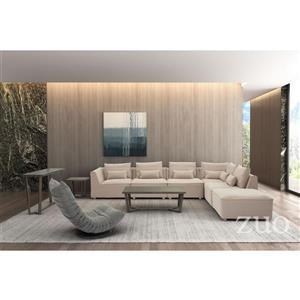 Zuo Modern California Accent Chair - 33.5-in x 35.8-in - Beige