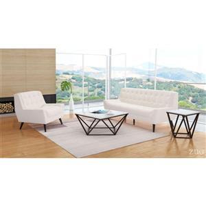 Zuo Modern Natucket Sofa - 78.7-in x 34.3-in - Beige