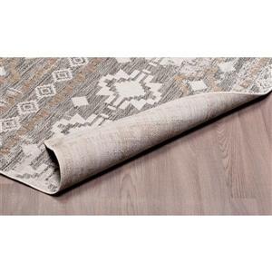 Erbanica Indoor-Outdoor Polypropylene Rug - Ivory Sand - 3' x 5'