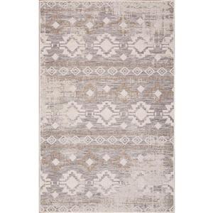 Erbanica Indoor-Outdoor Polypropylene Rug - Ivory Sand - 7' x 9'