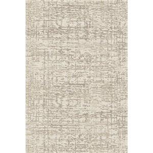 Erbanica Textured Polypropylene Cream Dark Beige Rug - 8 x 10'