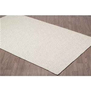 Erbanica Diamond Flat Weave Reversible Wool Rug - 8' x 10'