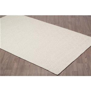 Erbanica Diamond Flat Weave Reversible Wool Rug - 5' x 8'
