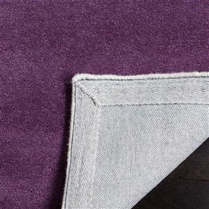 Chatham Square Rug - 8.8' x 8.8' - Wool - Purple/Ivory