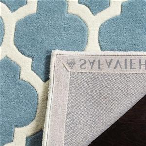 Chatham Square Rug - 8.8' x 8.8' - Wool - Blue/Ivory