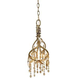 Golden Lighting Autumn Twilight Mini Pendant Light -  Mystic Gold
