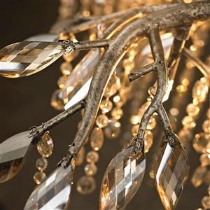 Golden Lighting Autumn Twilight 5-Light Pendant Light - Mystic Gold