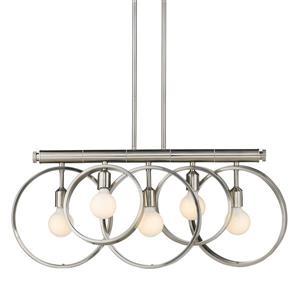 Golden Lighting Sloane Linear Pendant Light - Pewter