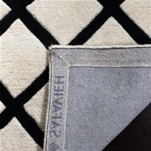 Chatham Geometric Rug - 2' x 3' - Wool - Ivory