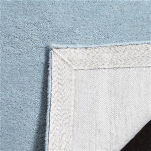 Chatham Geometric Rug - 2' x 3' - Wool - Blue