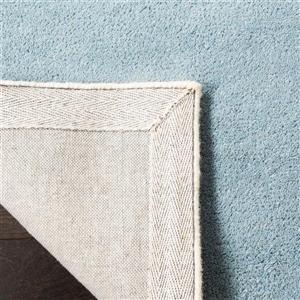 Chatham Trellis Rug - 3' x 5' - Wool - Light Blue