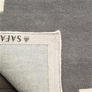 Chatham Trellis Rug - 2' x 3' - Wool - Gray
