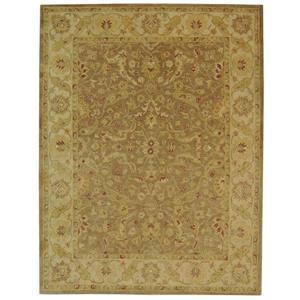 Antiquity Floral Rug - 11' x 15' - Wool - Brown