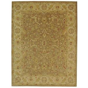 Antiquity Floral Rug - 12' x 18' - Wool - Brown