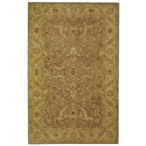 Antiquity Floral Rug - 2.3' x 4' - Wool - Brown
