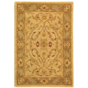 Antiquity Floral Rug - 2' x 3' - Wool - Ivory