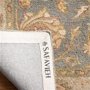 Antiquity Floral Rug - 12' x 15' - Wool - Blue