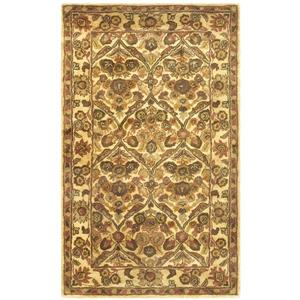 Antiquity Floral Rug - 2' x 3' - Wool - Gold