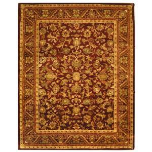 Antiquity Floral Rug - 12' x 18' - Wool - Burgundy