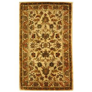 Antiquity Floral Rug - 3' x 5' - Wool - Gold