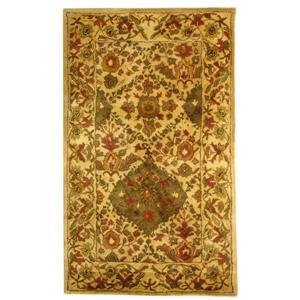 Antiquity Floral Rug - 3' x 5' - Wool - Beige